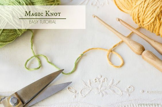 Knitting Knot Join : How to the magic knot yarn join easy tutorial