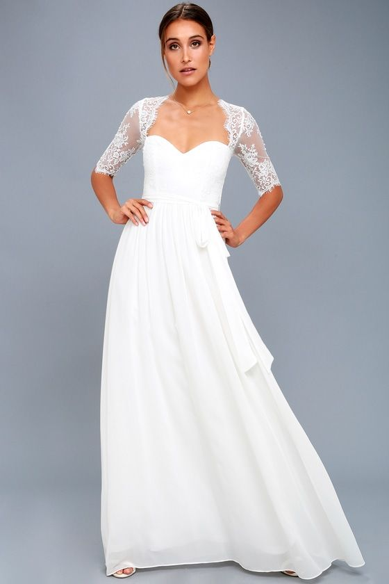 In A Fairy Tale White Lace Maxi Dress In 2020 White Lace Maxi Dress White Lace Maxi Lace Maxi Dress
