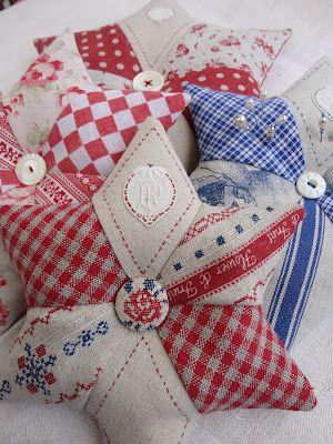 Pin cushions: