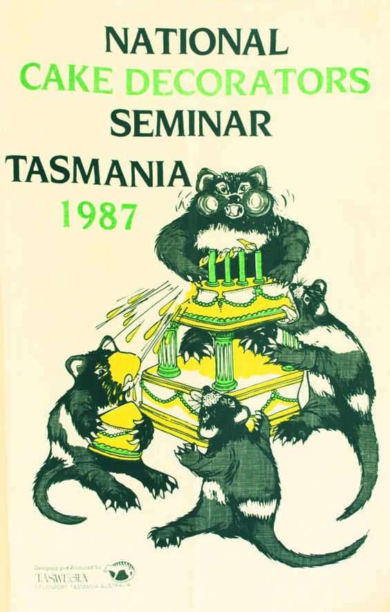 National Cake Decorators Seminar Tasmania 1987 Tea by FunkyKoala