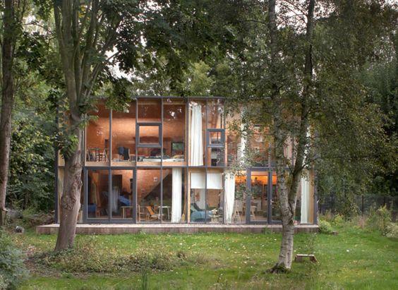 #Architecture in #Belgium - #House  Maison Lathuy by V plus, ph 354 photographers