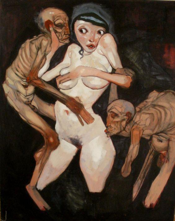 Gabriel Neale (born 1978) - Susanna and the Elders