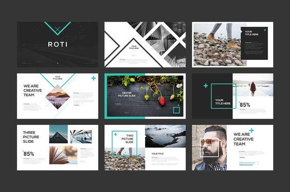 Roti 2 Slides Pinterest Powerpoint Presentation Templates And