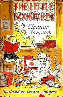 1955 Edward Ardizzones cover for children's book 'The Little Bookroom' by Eleanor Farjeon.