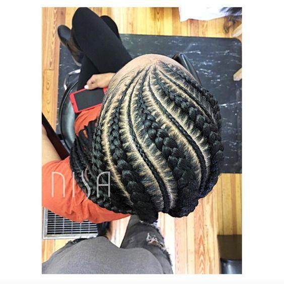 Beautiful Detailing via @nisaraye - http://community.blackhairinformation.com/hairstyle-gallery/braids-twists/beautiful-detailing-via-nisaraye/