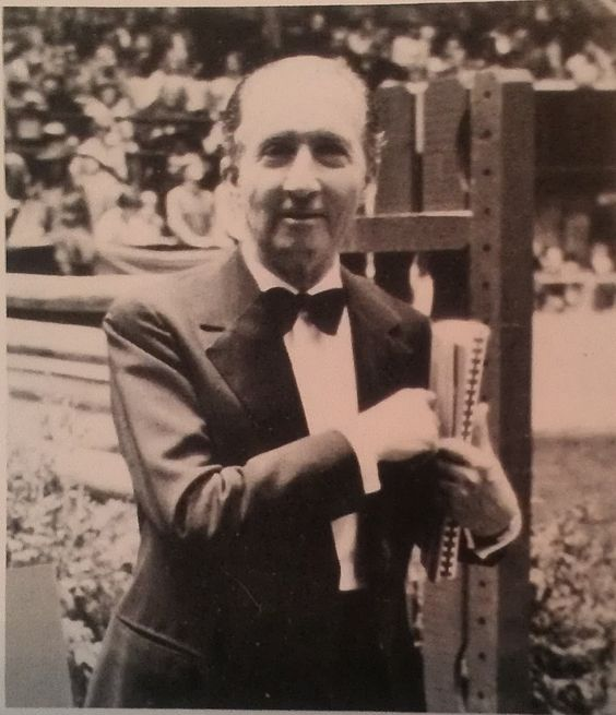 Bertalan De Nemethy at Madison Square Garden.