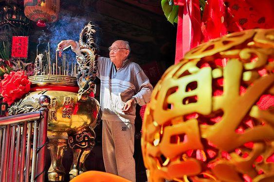 Vào ngày 25 tháng Chạp là ngày đón thần linh ở Đài Loan