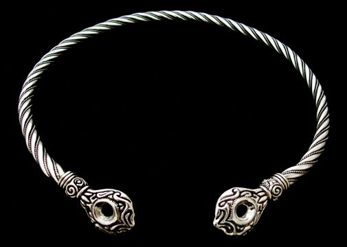 celtic torc necklace | Handcrafted Celtic Torcs & Viking Neck Rings