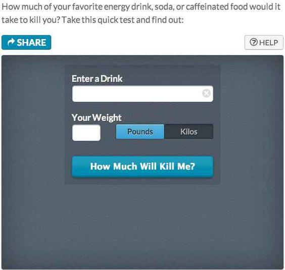 Muerte por cafeína:   35 sitios web sorprendentemente útiles que no sabías que necesitabas