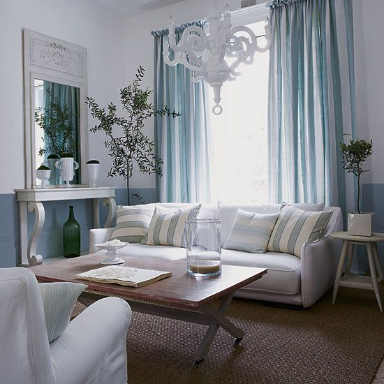 French Style Living Room Simple Large Scale Furniture Set Against A Palette Of White And Pale