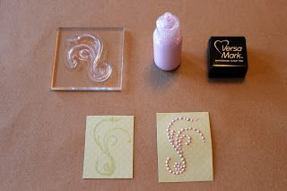 SIMPLY PAPER: Handmade Pearl Flourishes