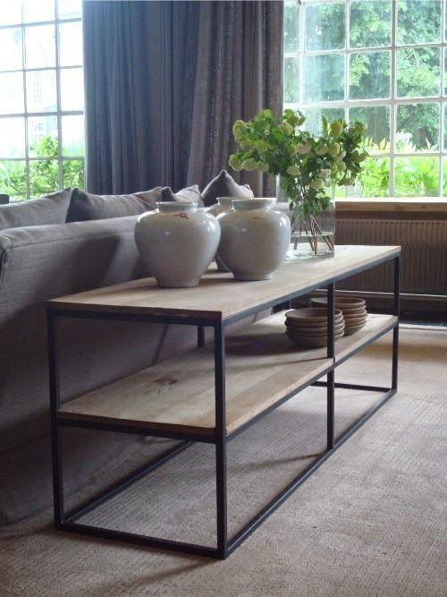 inspiratie sidetable achter de bank interiors living rooms and