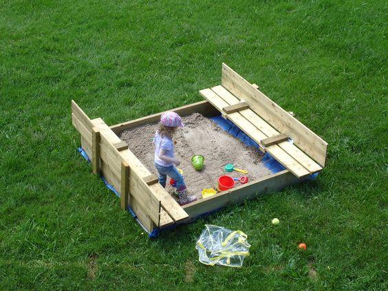 Sandbox Play - Two Big Two Little