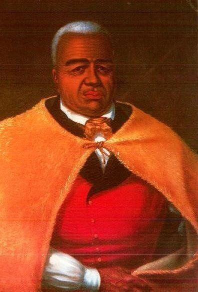 King Kamehameha, first King of the Kingdom of Hawai'i.