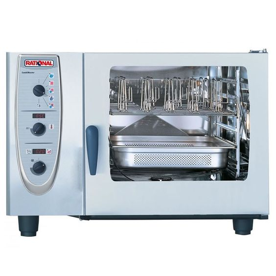 Rational Cm62 Combimaster Plus Oven Electric With Images Combi Oven Commercial Kitchen Appliances Catering Equipment