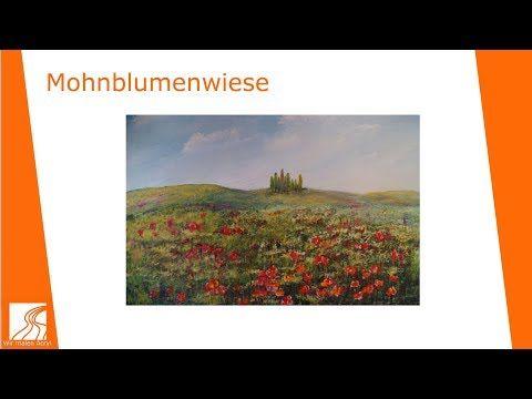 Youtube Landschaften Malen Malen Mit Acrylfarben Acryl Malen