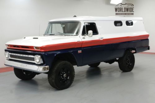 1966 Chevrolet C K Pickup 3500 Panel Truck Restored 4x4 Disc