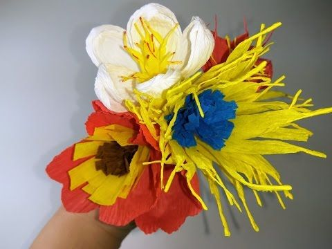 Kwiaty Z Bibuly Palma Wielkanocna Easter Palm Paper Crafts Plant Hanger Macrame Plant Hanger