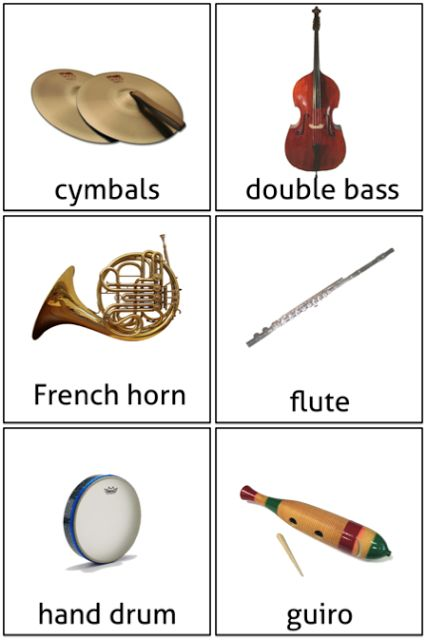 Beth's Music Notes: Orchestra Flash Cards