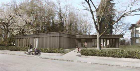 Doppel Kindergarten Haspelweg// by KASTKAEPPELI ARCHITEKTEN BERN BASEL