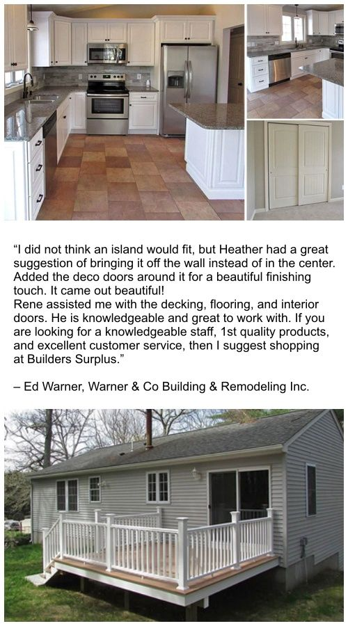 Builders Surplus Testimonials Remodel Doors Interior Customer Testimonials