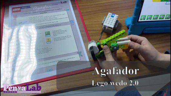 Agafador amb Lego wedo 2.0