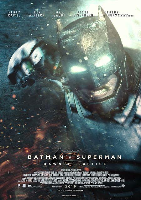 BATMAN V SUPERMAN - POSTER BY MESSY PANDAS