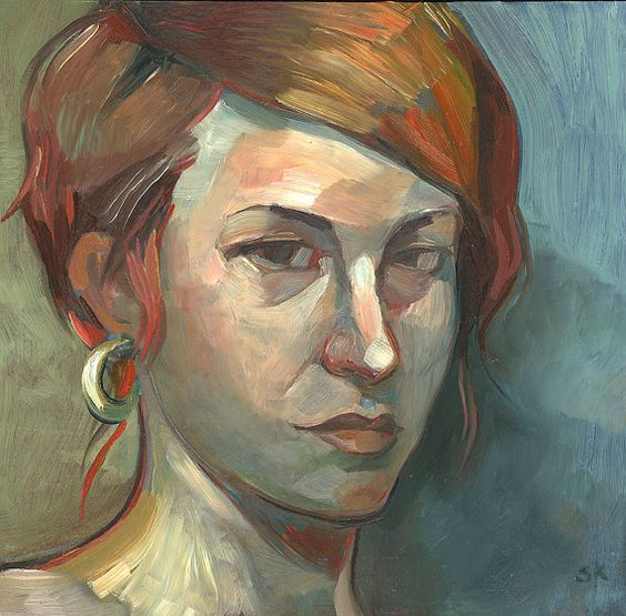 Cahterine  Oil Portrait from Life  Original Painting  by keelyart, $320.00