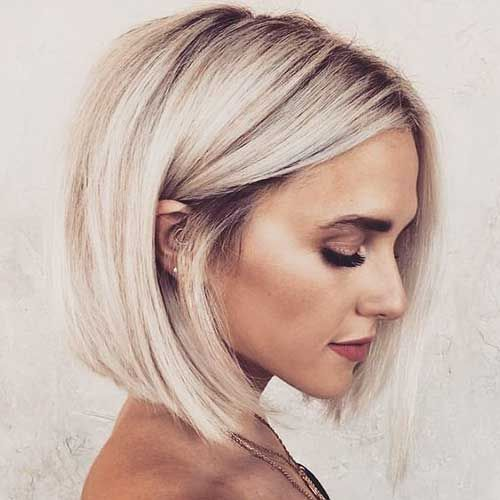 20 Ideas About Bob Hairstyles For Women Jeffy Pinx Bob Hairstylesforwomenover20 Hairst In 2020 Blonde Bob Hairstyles Platinum Blonde Bobs Thick Hair Styles