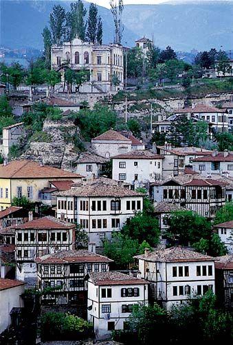 Casas de Safranbolu, Turquía