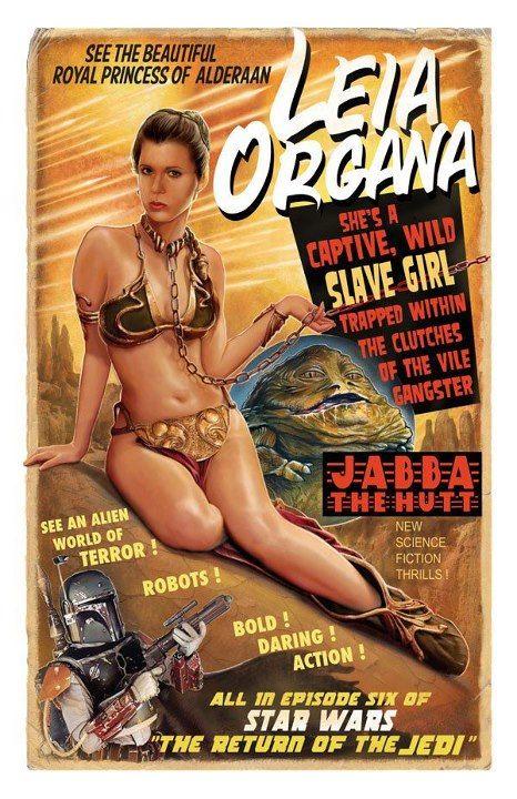 Style, Poster and Princess leia on Pinterest Old Star Wars Princess Leia