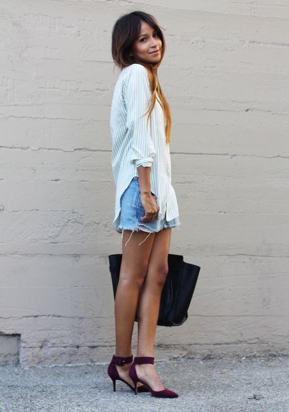 sincerely, jules classic #denimshorts