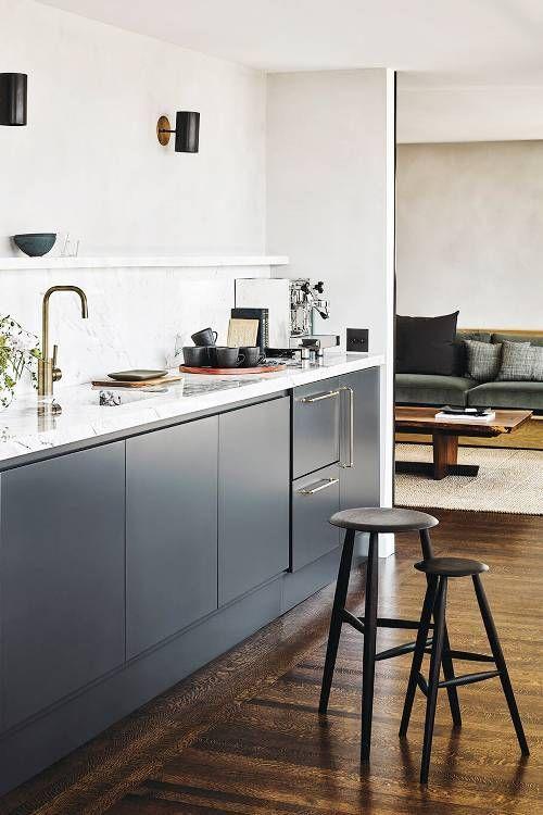 Minimal Scandinavian Open Kitchen Design Cucine Interni Della Cucina Arredo Interni Cucina