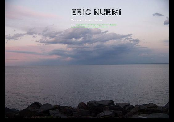 Eric Nurmi's page on about.me – http://about.me/kreativekarma