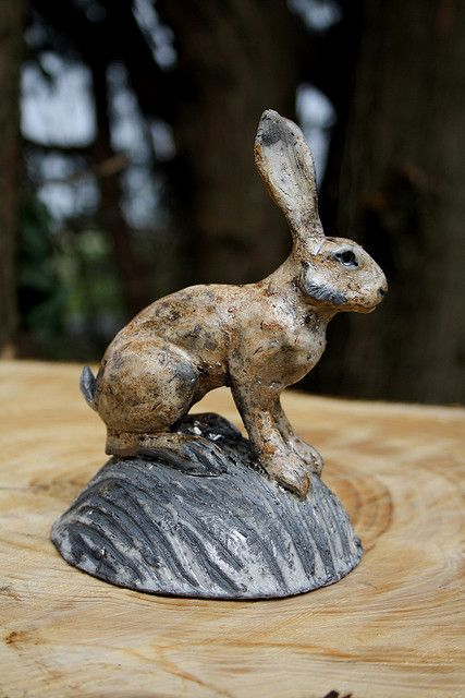 alert hare by Joe lawrence art work, via Flickr
