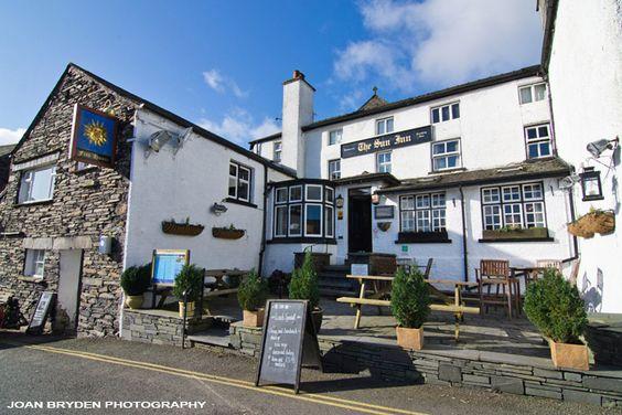 The Sun Inn, Hawkshead, the Lake District, Cumbria