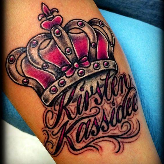 Disenos Originales De Tatuajes De Coronas Con Nombres Tatuajes