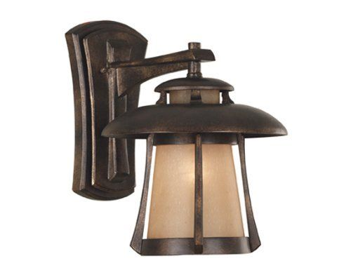 Kenroy Home 3195 Laguna Medium Wall Lantern, Golden Bronze by Kenroy Home. $160.20. From the Manufacturer                With its pagoda-inspired shape and delicately frosted shade, Laguna is a perfect fit for lovers of Asian-influenced design, or those looking at make an eclectic style statement.                                    Product Description                Kenroy Home 03195 Laguna Med. Wall Lantern GBRZ With its pagoda-inspired shape and delicately frost...