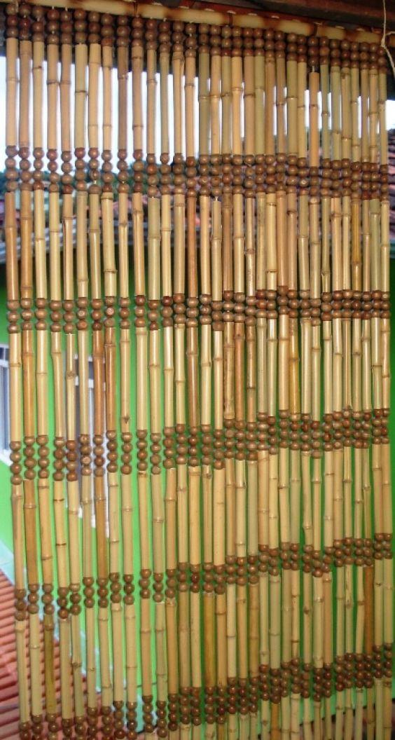 Cortina de bambu tacuara pinterest - Cortinas de bambu ...