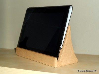 1000 id es sur le th me support de tablette sur pinterest support de t l phone stand de. Black Bedroom Furniture Sets. Home Design Ideas