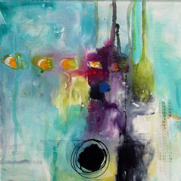 Original series keep your eye on the mark donna for Most beautiful abstract art