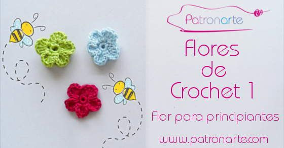 Como Aprender A Tejer Crochet Para Principiantes Flores De Crochet Flor Para Principiantes Flores A Crochet