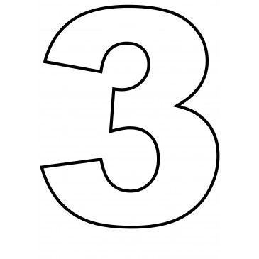 Zahlen Kekse Und Tortenschablone Zum Ausdrucken 5