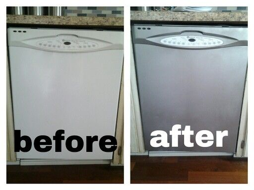 Our $8 Makeover Using Stainless Steel Spray Paint At Ace