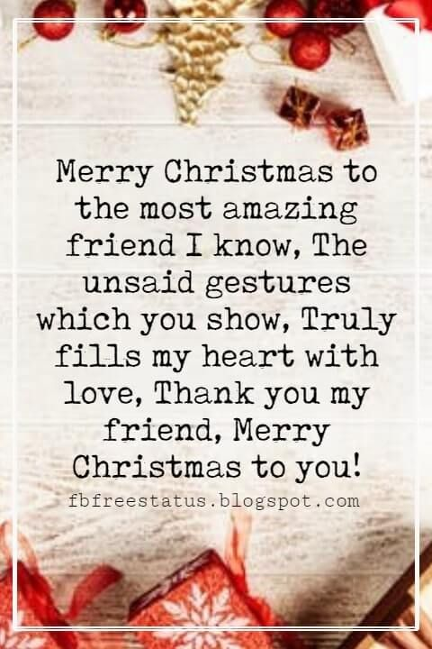 Christmas Messages For Friends Cards With Images Christmas