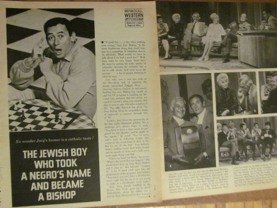 Joey Bishop, Great Vintage Clipping