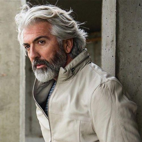 54 Viking Hairstyles Older Mens Hairstyles Silver Hair Men Grey Hair Men