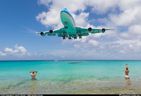 PH-BFN KLM Royal Dutch Airlines Boeing 747-406 taken 19-08-2013 at Philipsburg / St. Maarten - Princess Juliana International (SXM / TNCM)