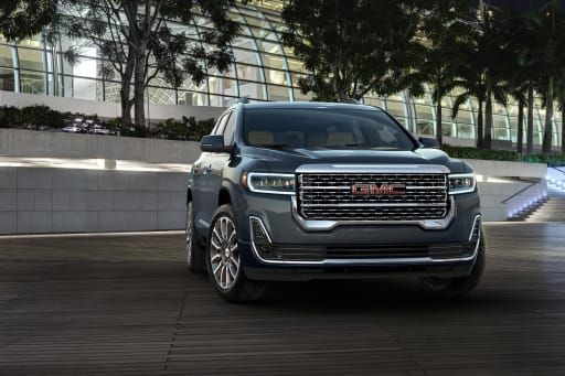 2020 Gmc Acadia Shifts To Buttons Gets Styling And Tech Tweaks