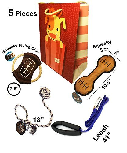 ***** $11.73 **** Dog Toy Gift package,(5 pieces),Sports Theme Dog Toys.Dog... http://www.amazon.com/dp/B01CT8F0MI/ref=cm_sw_r_pi_dp_gurnxb0VW1MV6